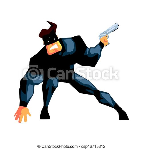 secret service male agent undercover wearing mask handsome rh canstockphoto com secret agent badge clipart secret agent clipart free