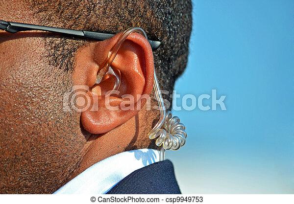 Secret Service on duty - csp9949753