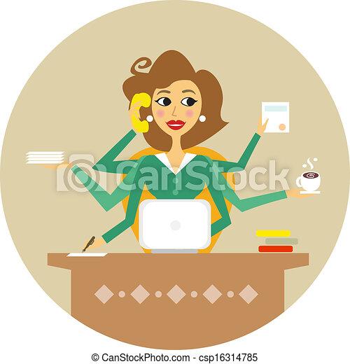 secretaresse - csp16314785