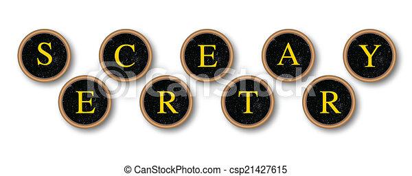 Secretario - csp21427615