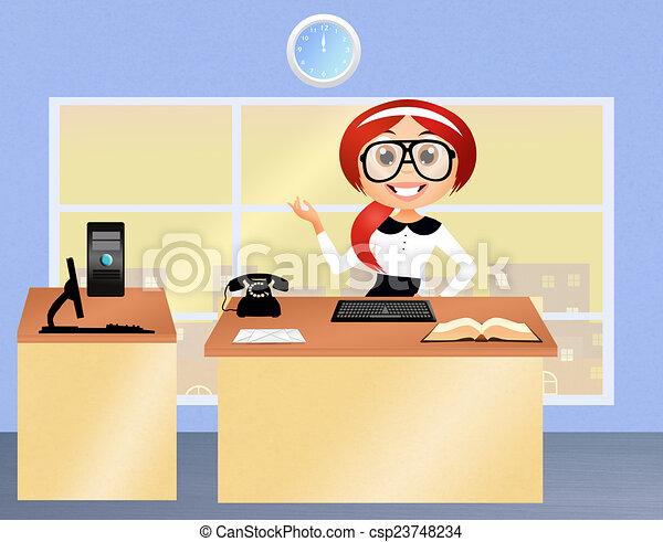 Secretario - csp23748234