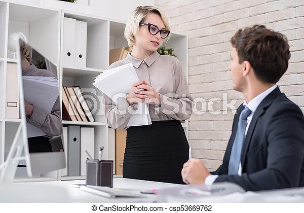 Found site mature blonde secretary opinion