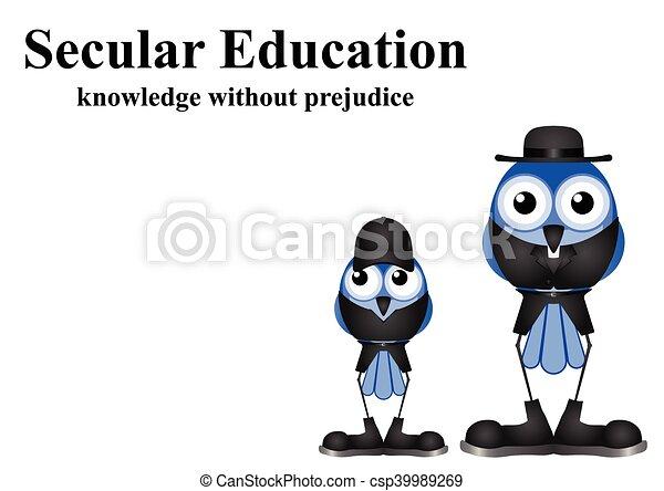 Secular Education - csp39989269