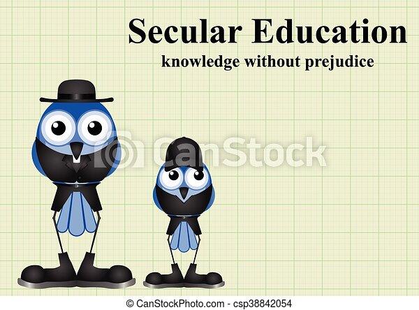 Secular Education - csp38842054