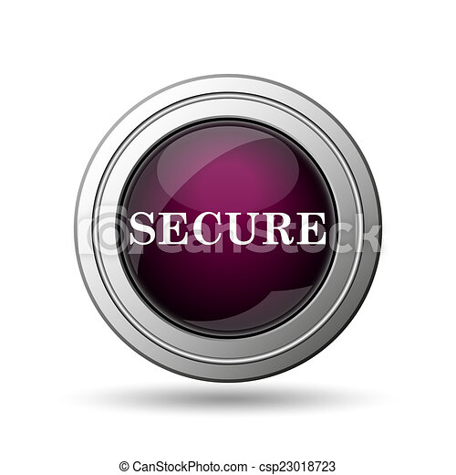 Secure icon - csp23018723