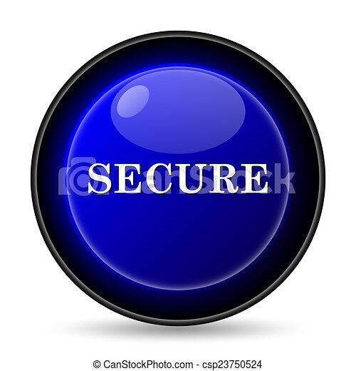 Secure icon - csp23750524