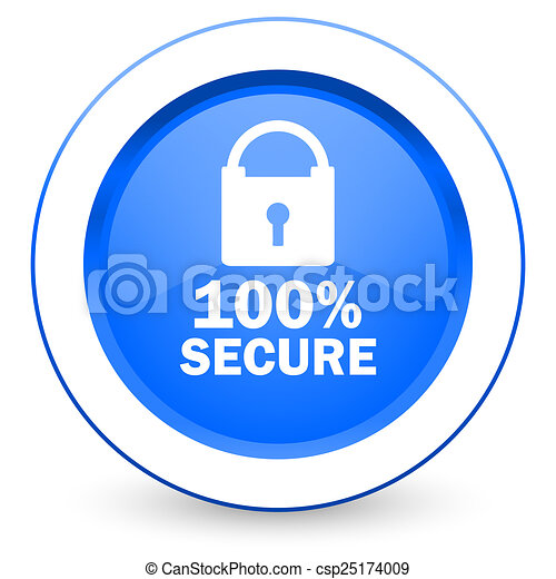 secure icon - csp25174009