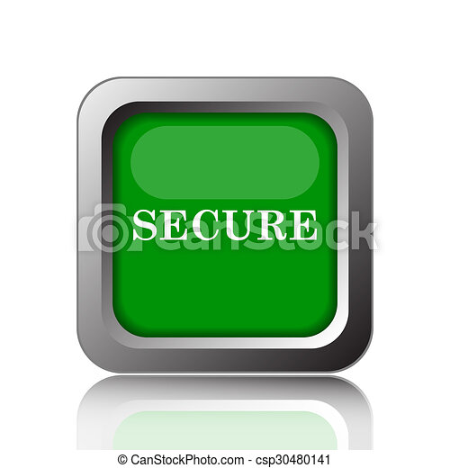 Secure icon - csp30480141