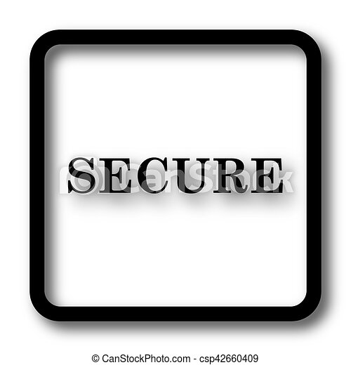 Secure icon - csp42660409
