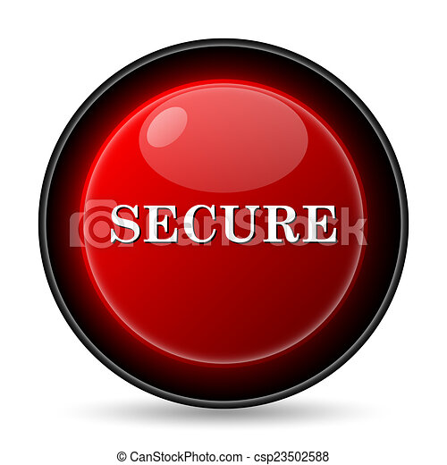 Secure icon - csp23502588