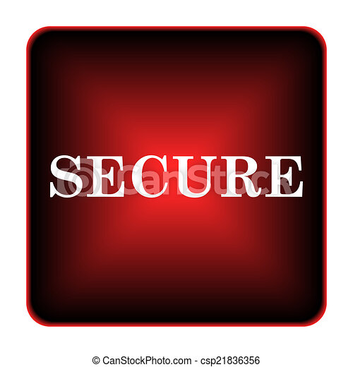 Secure icon - csp21836356