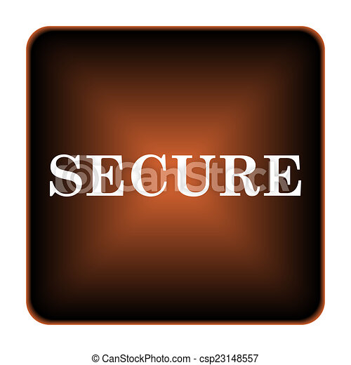 Secure icon - csp23148557
