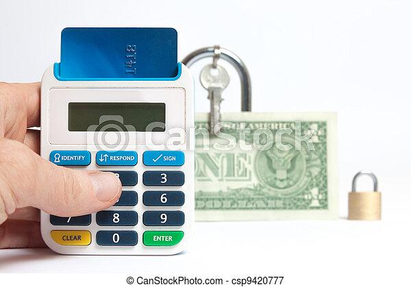 Secure internet banking - csp9420777
