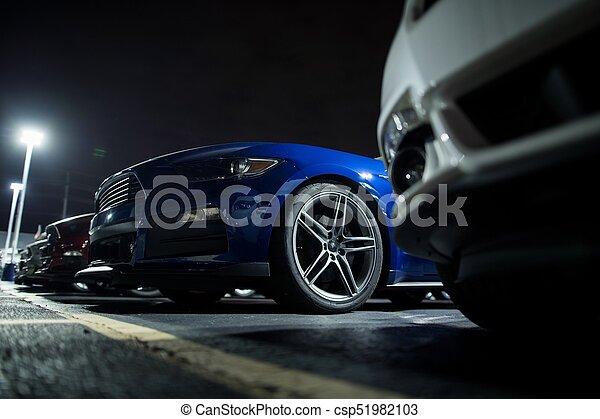 Secure Overnight Car Parking - csp51982103
