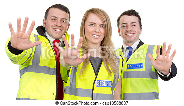 security bevogt, hold - csp10588837