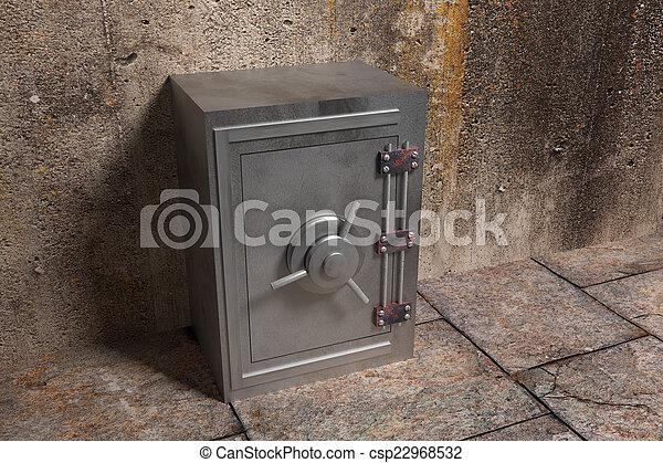 security box - csp22968532