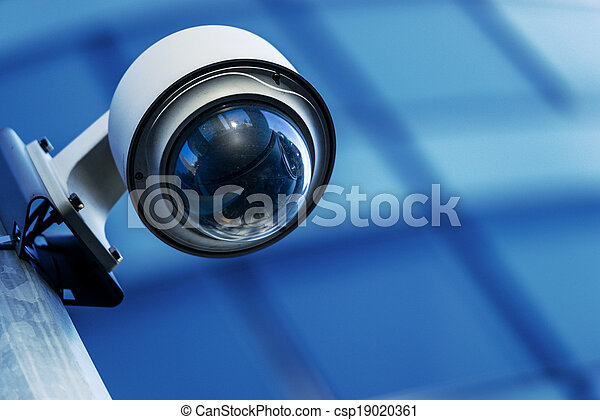 security camera and urban video - csp19020361