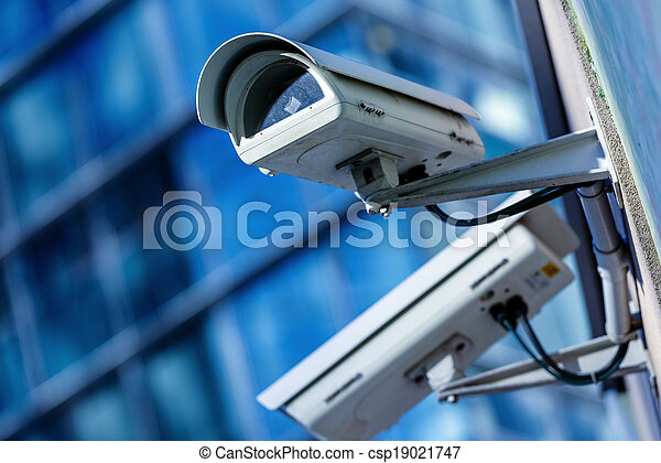 security camera and urban video - csp19021747