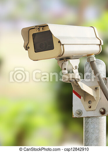 Security camera - csp12842910
