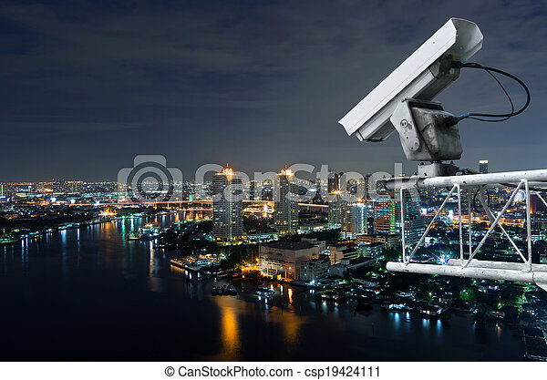 Security camera - csp19424111