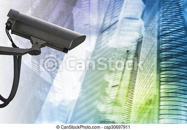 Security camera - csp30697911