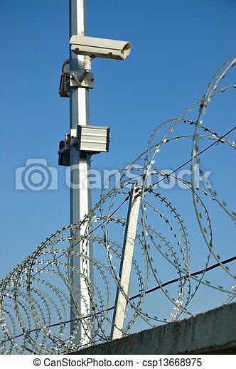 Security cameras - csp13668975