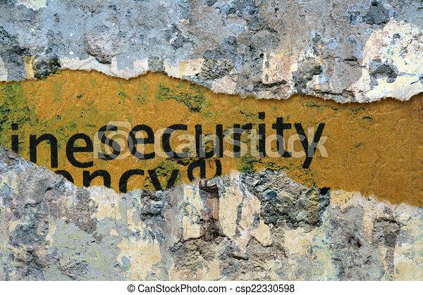 Security - csp22330598
