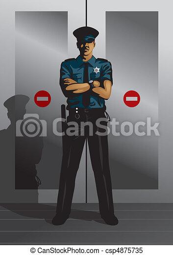 Security Guard - csp4875735