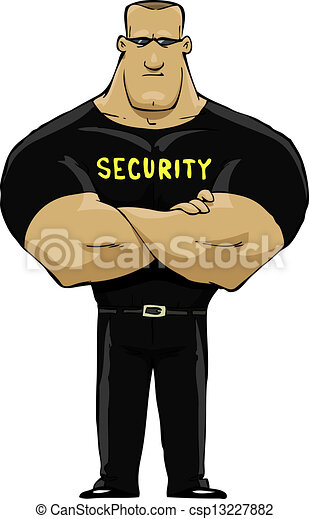 Security guard - csp13227882