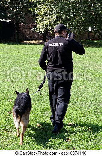security guard - csp10874140