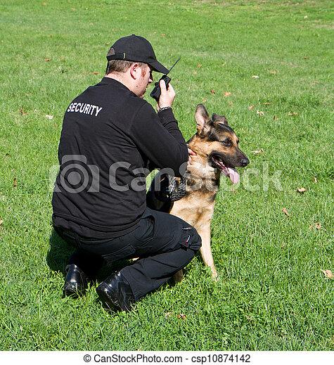 security guard - csp10874142