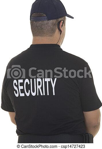 security guard  - csp14727423