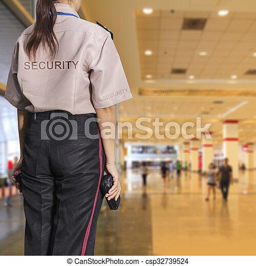 Security guard - csp32739524