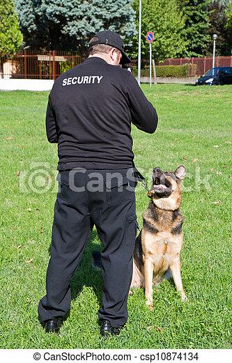 security guard - csp10874134
