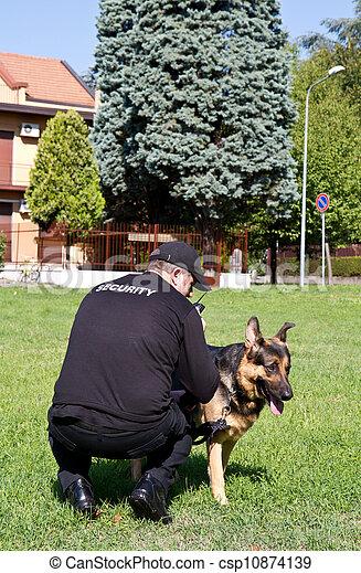 security guard - csp10874139