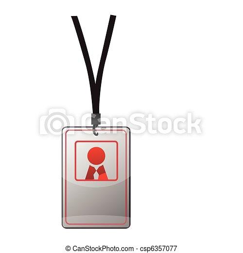 Security ID pass - csp6357077