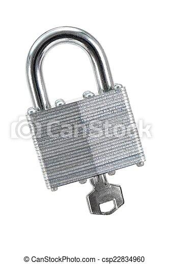 Security Lock - csp22834960