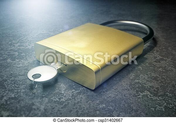 Security Lock - csp31402667