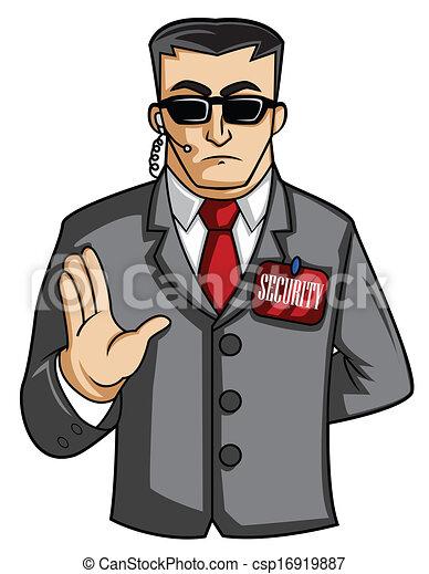security man - csp16919887