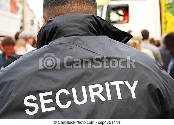 security man - csp4751444