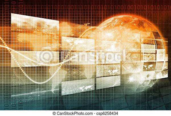Security Network - csp6258434