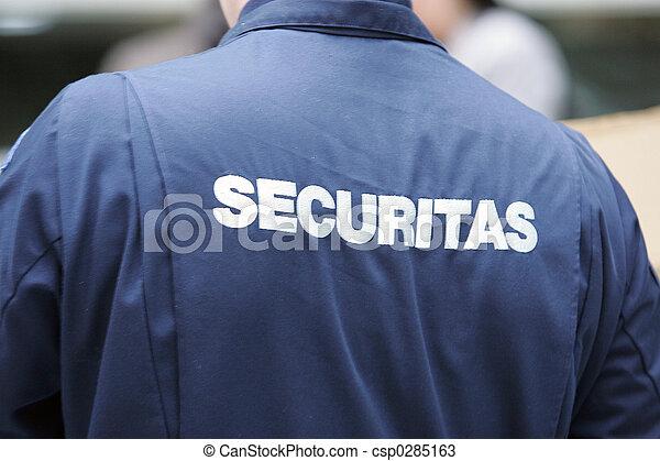 security - Sicherheitsdienst - csp0285163