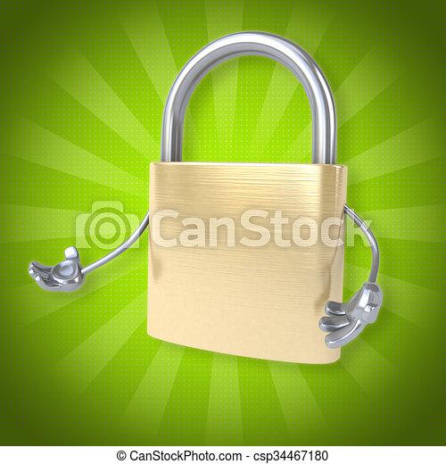 Security - csp34467180