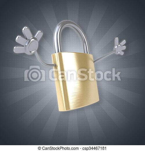 Security - csp34467181
