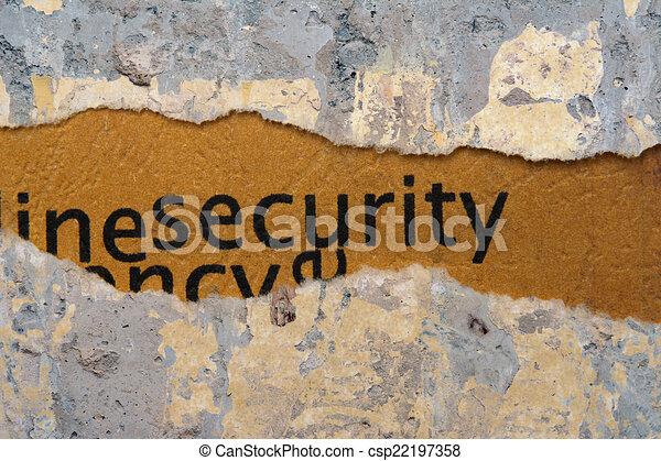 Security - csp22197358