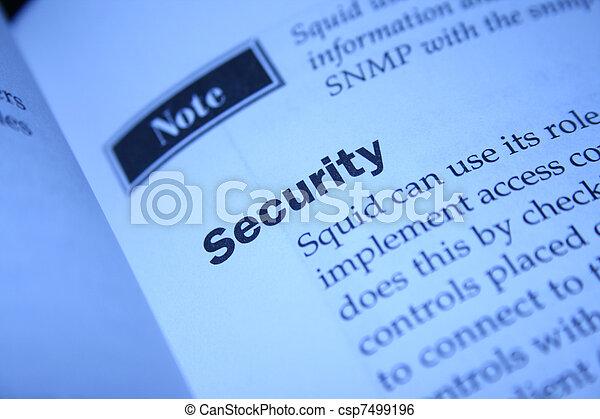 Security  - csp7499196