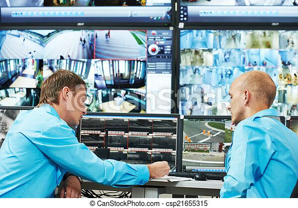 Security video surveillance - csp21655315
