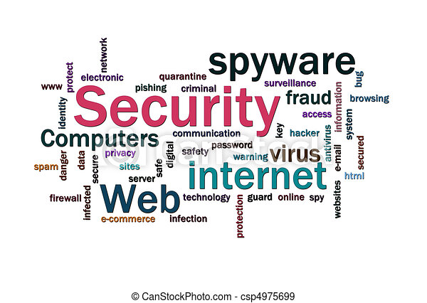 Security words cloud - csp4975699
