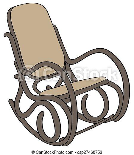 Sedia dondolo classico sedia dondolo mano legno - Sedia a dondolo disegno ...