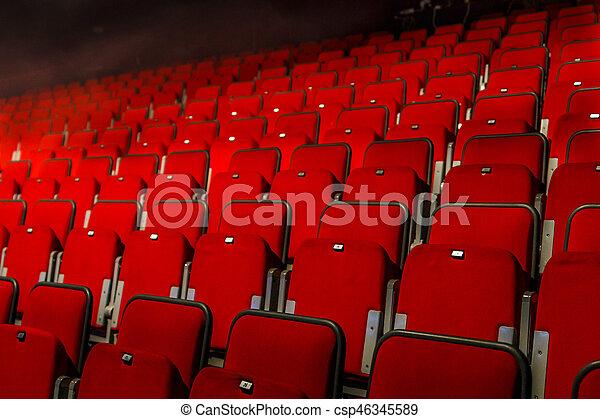 Teatro Le Sedie.Sedie Teatro Rosso